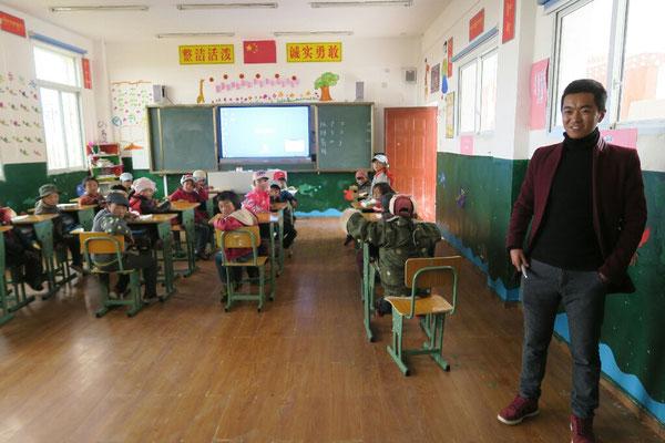 Classe de CP -Chine