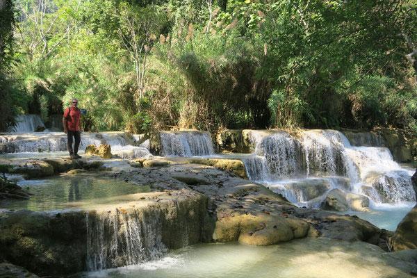 Cascades de Luang Si