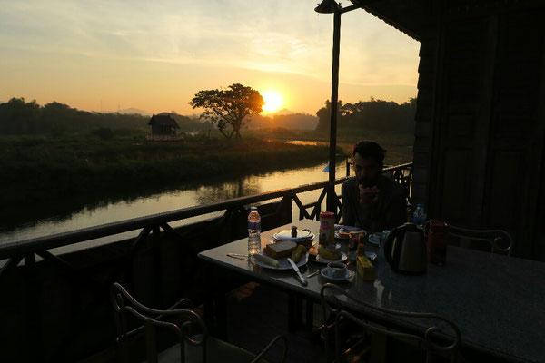 Lever de soleil à Ban Tak