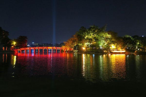 Île de Jade - lac Hoan Kiem - Hanoi