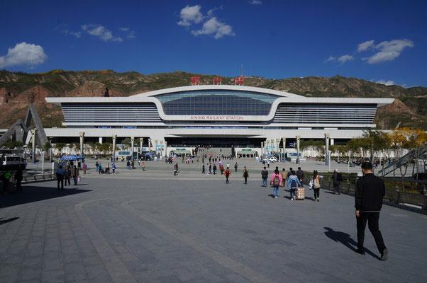 Gare ultra moderne de Xining