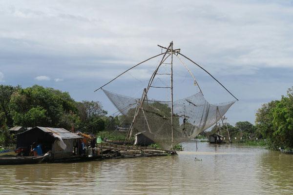 Pêche au filet semi-industrielle