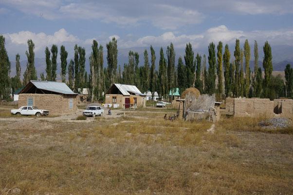 Arrivée à Kazarman