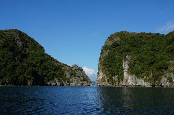 Baie de Lan Ha (ou d'Halong, mais de toutes façons, c'est tout pareil...)