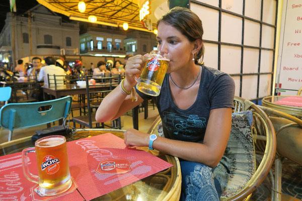 On a raté la photo avec la Angkor beer, ça sera la Anchor beer!
