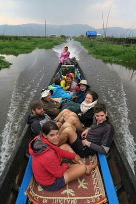 Sur le lac Inla