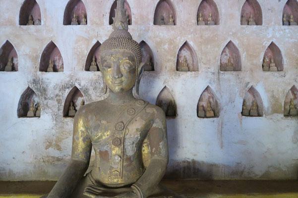 Les bouddhas du Vat Sisaket