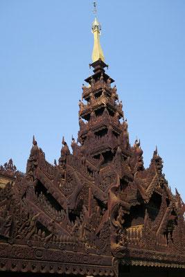 Monastère en teck de Nat Taung Kyaung