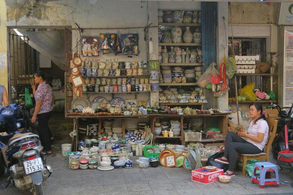 Magasin de porcelaine - Hanoi