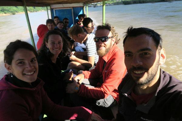 Depart pour Nong Khiaw avec Alice et Benoit