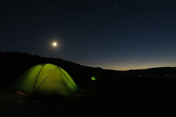 Nuit étoilée au lac Orto Tokoi