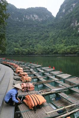 Enfilade de barque