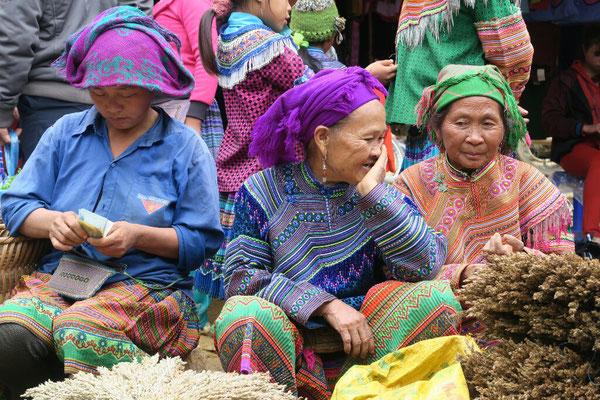 Marché de Bac Ha - Vietnam