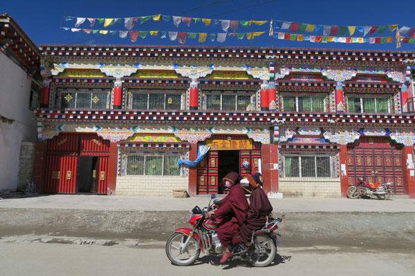 Maisons colorées de Zhuqin
