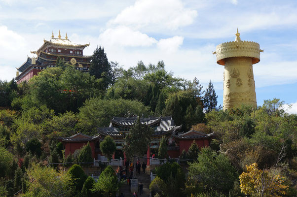 Le plus grand moulin à prières du monde - Shangri-la