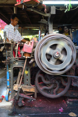 Les métiers à tisser d'Amarapura