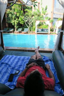 Détente à Siem Reap.