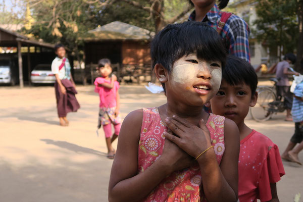 A Bagan - Birmanie