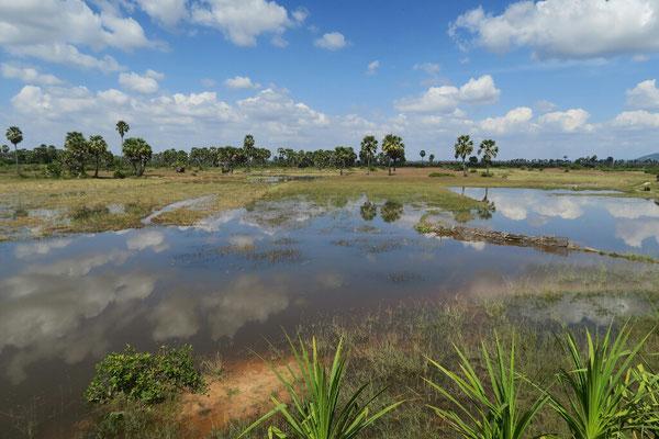 On approche de Siem Reap