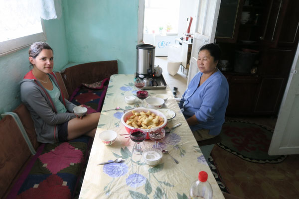 Chez Actilet et ses parents - Kirghizistan