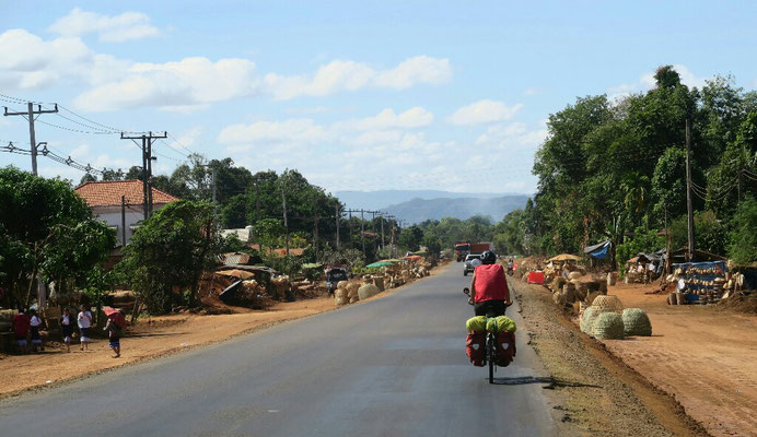 On redescend vers Pakse