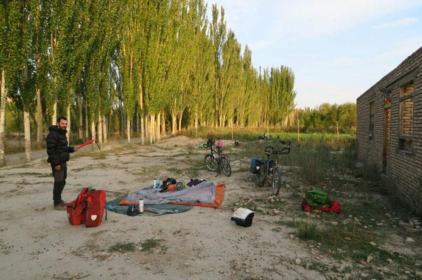 Premier camping en Chine