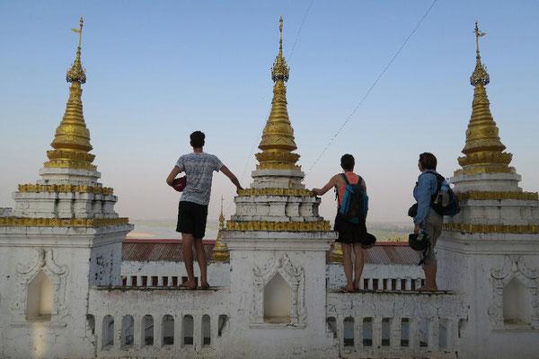 Depuis la colline de Sagain