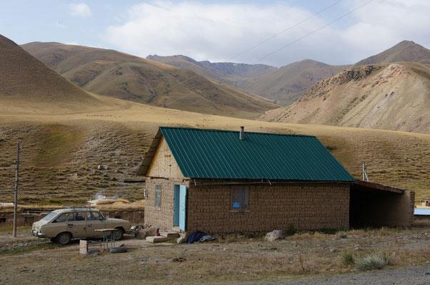Maison de berger en terre