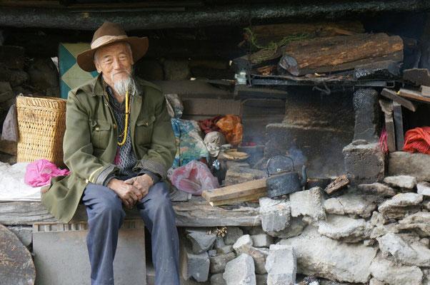 Le gardien de la source de Baishuitai