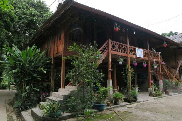 Notre guesthouse sur pilotis à Maï chau