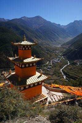 Stupa perchée
