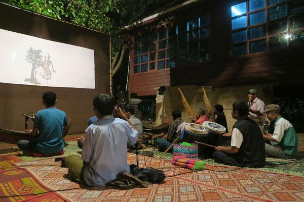 Théâtre d'ombres à Champassak