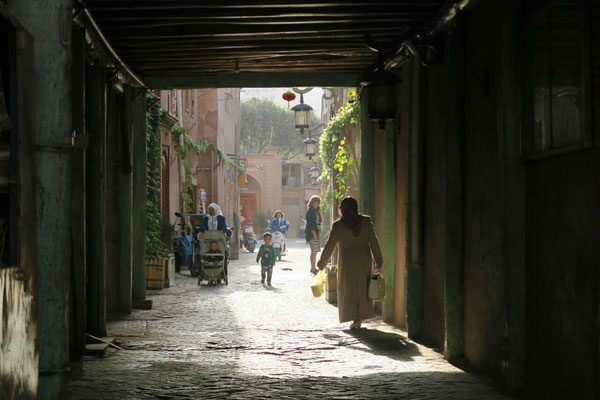 Ruelle du vieux Kashgar