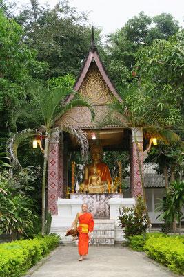 L'un des nombreux temples de Luang Prabang