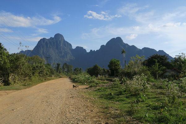 Dans les environs de Vang Vieng