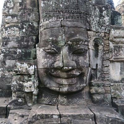 Bouddha du temple Bayon