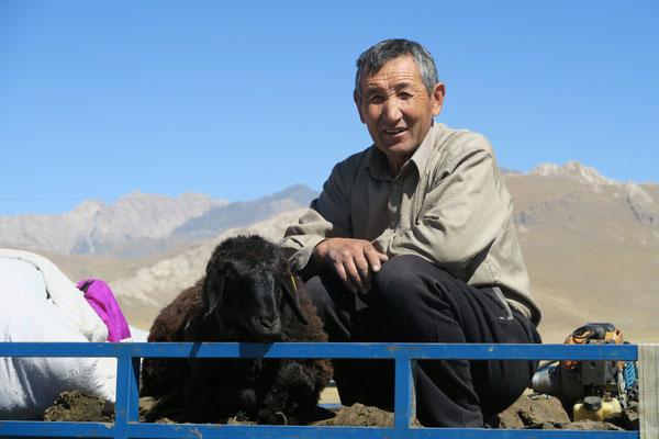 Berger et son mouton