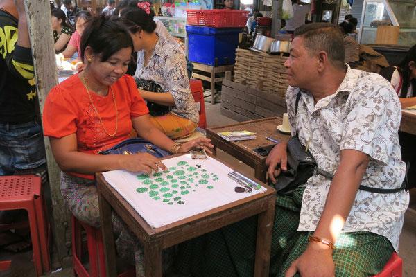 Marché au jade - Mandalay