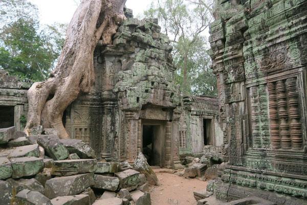 Encore un temple sous les arbres...