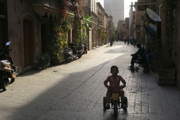 Les ruelles du vieux Kashgar