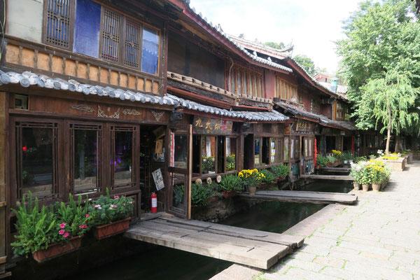 Ruelle et canaux de Lijiang