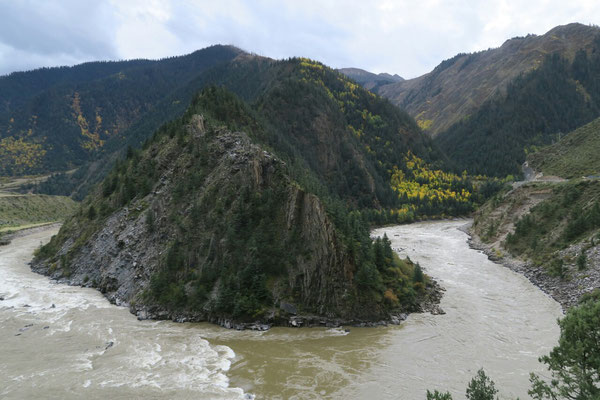 Vallée de Yalong entre Garze et Litang