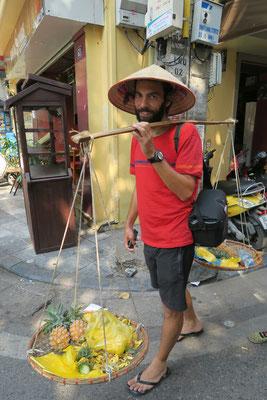 Hanoi, Vietnam - Bon ok, ça faisait pas 1 km... mais on dira que ça compte!