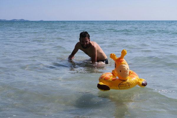 Sur les plages Thailandaises