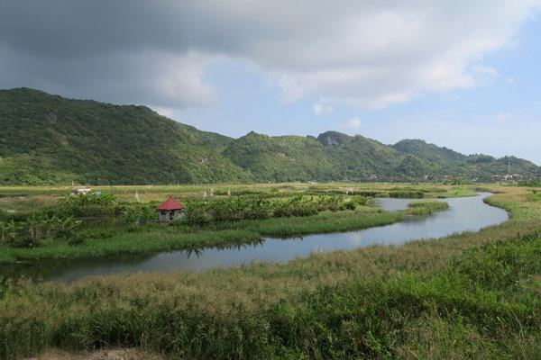 Depuis la route côtière - Cat Ba island