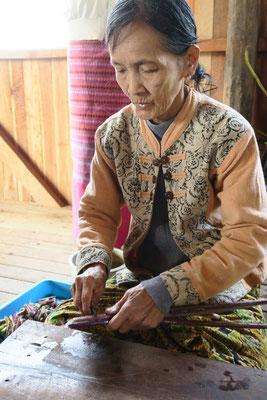 Sur le lac Inle - Birmanie