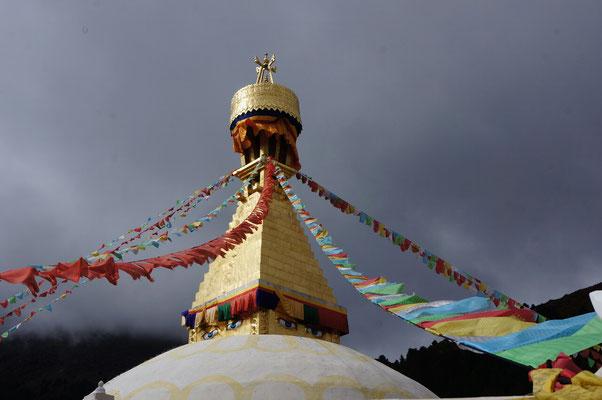 Stupa a Dzongchen