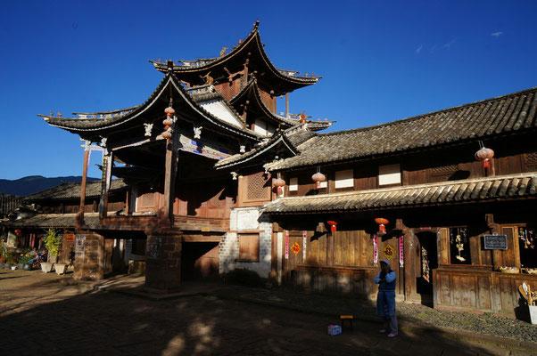 Ancien théatre sur la place de Shaxi