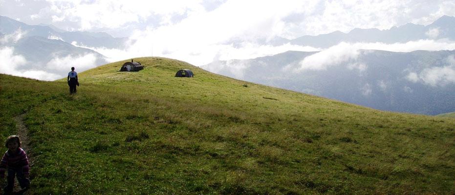 Cabanes près de Peyresourde