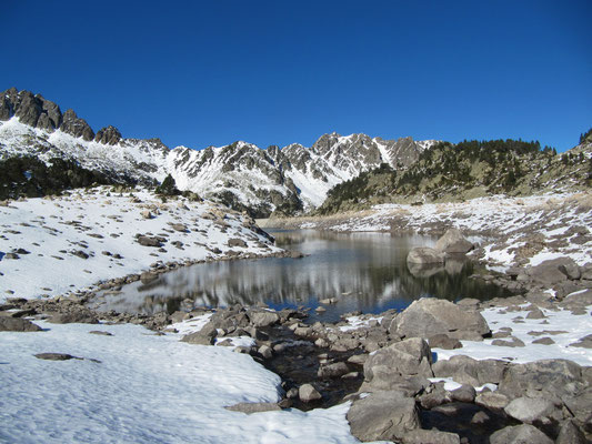Le lac de Gréziolle Novembre 2010